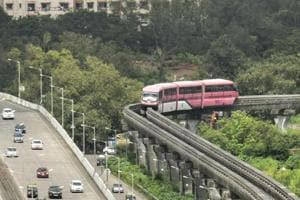 The Monorail services, which took off on Chembur-Wadala route, will run between 6am and 10pm daily.