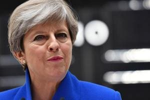 British prime minister Theresa May vowed on Sunday to stand by her blueprint for future trade ties with the European Union, amid fierce opposition from Brexiteers and doubts from the bloc.