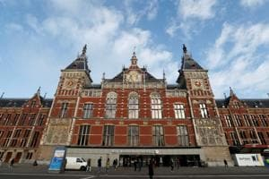 Amsterdam police shot and wounded the suspect after the stabbings Friday at Central Station.  \