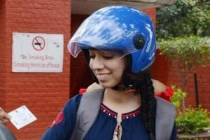 Delhi Traffic Police will soon start an awareness campaign for parents to mandatorily get children riding on two-wheelers to wear helmets.