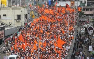 "Shiv Sena chief Uddhav Thackeray in a press conference had said that it was ""some unscrupulous elements"" who had taken advantage of the Maratha protests and indulged in violence  in July-August this year."