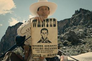 The Ballad of Buster Scruggs is one of three Netflix movies in competition at the Venice Film Festival.