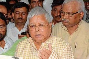 RJD chief Lalu Prasad is currently admitted at RIMS hospital in Ranchi.