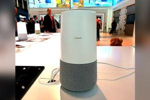 Huawei's smart speaker is powered by Amazon Alexa.