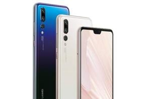 Huawei P20 Pro features an AI-powered triple-camera setup.