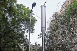 New Delhi has 21 such sensors on smart poles, installed over the last two months.