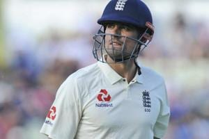 Alastair Cook,  former England captain has made a national record 12,254 runs in a 160-test career over 12 years.