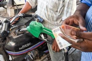 The increase in prices for diesel was sharper, with the fuel selling for Rs 71.15 a litre in Delhi on Monday, 39 paise higher than Sunday's price of Rs 70.76 per litre on Sunday.