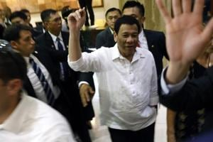 Rodrigo Duterte landed in Israel on Sunday for a four-day stay as the Philippines seeks to develop new sources of military hardware and nail down protections for its overseas workers.