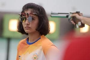 File Picture of Manu Bhaker