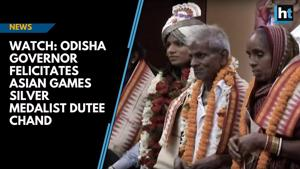 Watch: Odisha Governor felicitates Asian Games silver medalist Dutee Ch...