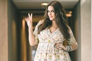 Pregnant Neha Dhupia will inspire you to update your maternity wardrobe with her silky maxi dresses and stunning floral frocks. (Instagram)