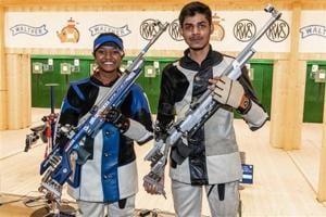 Divyansh Singh Panwar and Shreya Agarwal won bronze in the ISSF World Championships in Changwon.