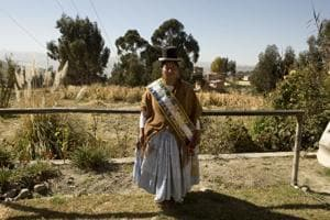 Photos: An increase in attacks as women's roles expand in Bolivian politics