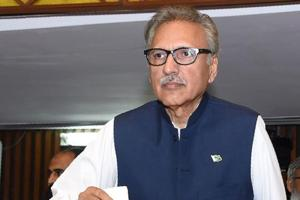 Arif Alvi was officially declared as the 13th president of Pakistan by the election commission Wednesday after he defeated his two rivals in a three-way contest.