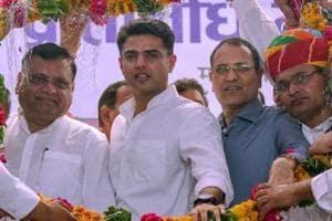 Rajasthan Pradesh Congress Committee President Sachin Pilot during the