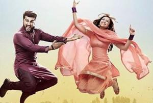Arjun Kapoor and Parineeti Chopra in a still from Namaste England.