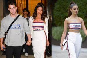 Priyanka Chopra and Nick Jonas' ex Olivia Culpo just wore very similar dresses. (Instagram)