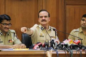 Maharashtra ADG Param Bir Singh with Pune