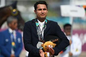 Fouaad Mirza became the first Indian to win an Asian Games individual medal in the equestrian event since 1982.