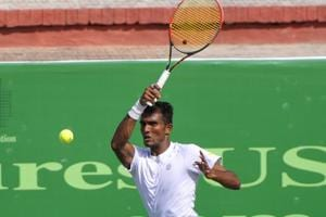 Sriram Balaji has been included as a replacement for Divij Sharan.