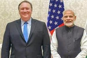 Prime Minister Narendra Modi meets the US Secretary of State, Michael R. Pompeo and the US Secretary of Defence, James Mattis, in New Delhi, Thursday, September 06, 2018.