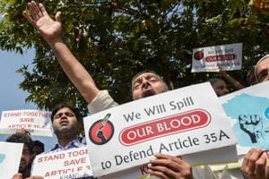 Municipal and panchayat polls are scheduled to start in Jammu and Kashmir on October 1 and conclude in the first week of November under the shadow of the row over Article 35A.