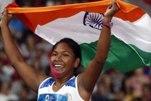 Swapna Barman won India's first-ever heptathlon gold medal at the Asian Games in Jakarta.