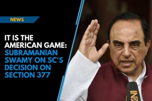 It is the American game: Subramanian Swamy on SC's decision on Section ...