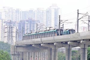 A report by the Centre for Science and Environment claimed that Delhi Metro has become the second-costliest Metro service in the world. (Sunil Ghosh / HTPhoto)