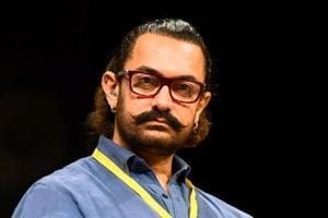 Bollywood actor Aamir Khan attends the 5th Indian Screenwriters Conference in Mumbai.