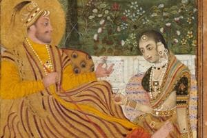 Ali Adil Shah II of Bijapur with a Woman. Found in the collection of The David Collection. (Image used for representational purpose)