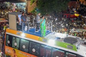 Rajasthan chief minister Vasundhara Raje during the