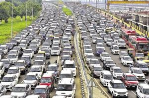 A report prepared by the Centre of Science and Environment has stated if all vehicles are brought together, Delhi would need parking space equivalent to nearly 310 football fields.