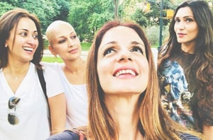 Sonali Bendre's BFFs are by her side as she battles cancer.