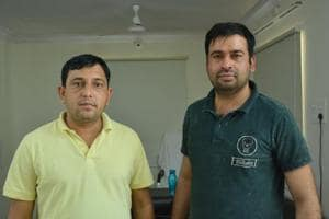 Economic Offences wing of the Cyberabad police arrested two key suspects -- Radhe Shyam and Surender Singh, belonging to Hissar in Haryana and seized Rs 200 crore from them.