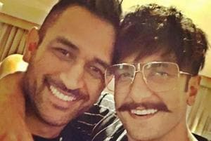 Ranveer Singh loves posting his pictures with other celebrities.