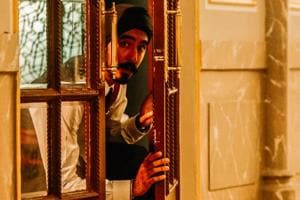 A scene from the film, Hotel Mumbai, which had its world premiere at the Toronto International Film Festival on Friday evening. The film is based on terrorists attacking that hotel on 26/11.