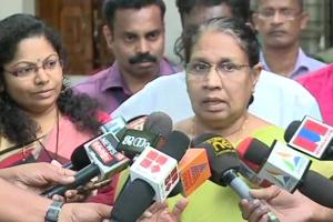 Kerala women's commission chief MC Josephine said they did not initiate action as a complaint was yet to be filed.