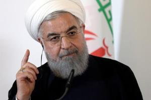 "President Hassan Rouhani said Iran was facing an ""economic, psychological and propaganda war."""