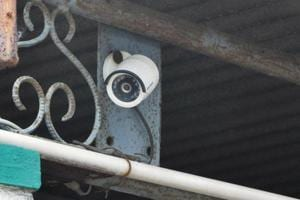 Many CCTVcameras were installed soon after the incident. (Bijay/HT Photo)