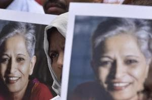 Gauri Lankesh, who was strongly opposed to Hindutva, was shot dead on September 5 last year by two motorcycle-borne assailants near her house here, triggering outrage.