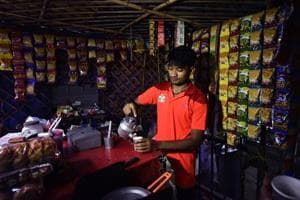 Photos: Asian Games medallist goes back to selling tea in Delhi