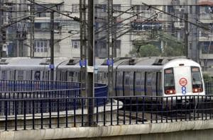 Tjhe incident caused delay in Metro operations.