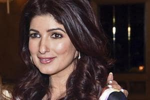 Twinkle Khanna at the launch event for her book Pyjamas are Forgiving.