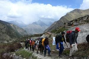 Uttarakhand also has many trekking trails.