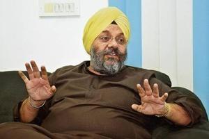 DSGMC president Manjit Singh GK