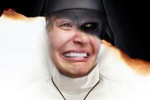 After Anushka Sharma, the evil  nun gets meme-bombed.