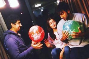 Alia Bhatt and Ranbir Kapoor just look like they have a ton of fun together. (Instagram)