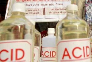 A woman in Greater Noida was allegedly forced to drink acid by members of her sister-in-law's family. (Representational Image)